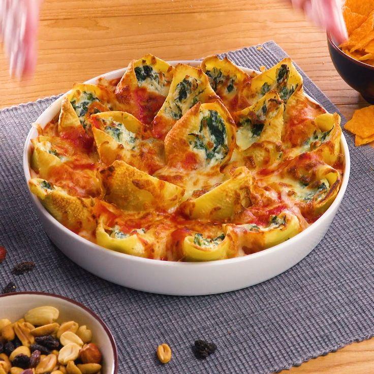 Photo of Pasta finger food casserole