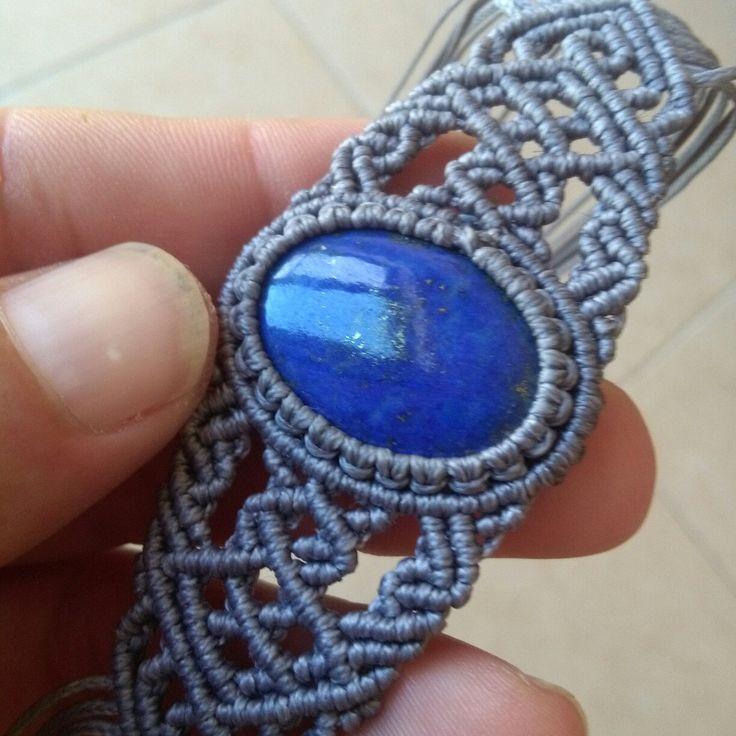 Lapis Lazuli bracelet.....throat chakra