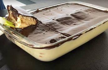 Супер вкусный десерт — Просто залил и готово Без выпечки! Ингредиенты: печенье Для заливки: 1 банка #Рецепты #Салаты #Десерты #Мясо #Вкусно #Готовить #Кулинария