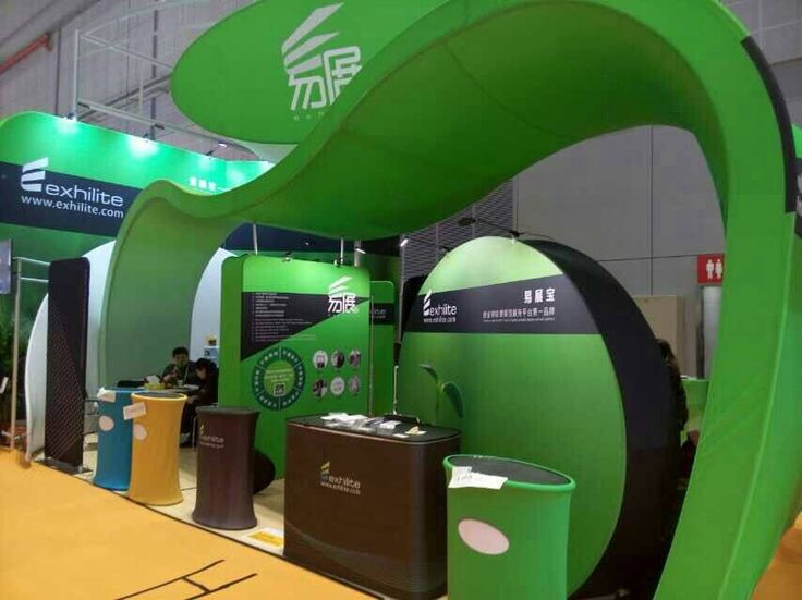 Exhibition Booth Equipment : Our portable trade show booth in rd shanghai int l ad