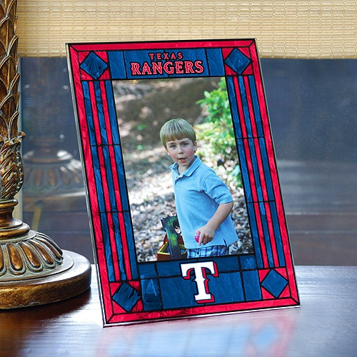 Texas Rangers Art-Glass Frame: $16.99 (Take a picture of all of us in our Rangers gear at a Rangers game!!)