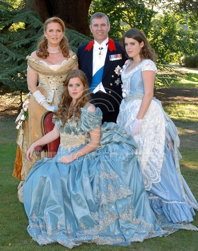 Awww Beautiful Family Photo Of Prince Andrew Fergie And Their