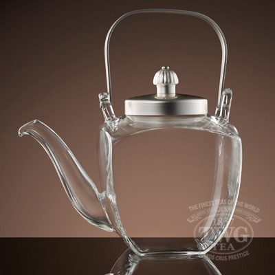 TWG Tea's French Teapot designed especially for fine harvest rare and hand crafted teas.      www.urbantea.com