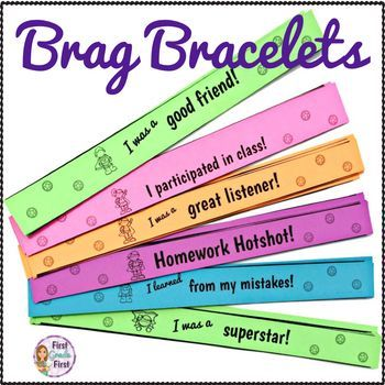 Need an incentive to use to promote a positive classroom environment? Grab these superhero themed brag bracelets to encourage positive behaviors! Includes a black and white version that you can print on colored paper to save your ink or a colorful version. 15 BRAG BRACELETS INCLUDED