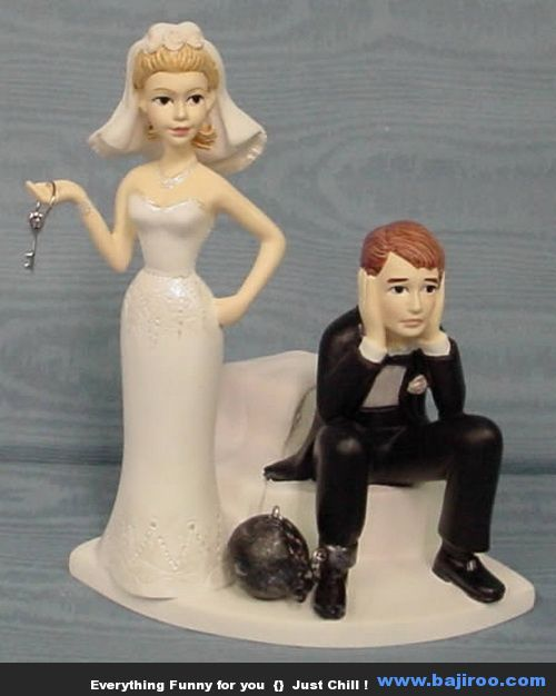 #Funny Wedding #Cake Toppers