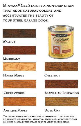 Minwax Gel Stain Interior Color Schemes Pinterest