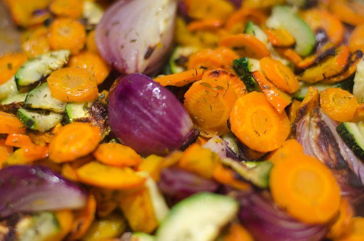 Hurtige grillede grøntsager