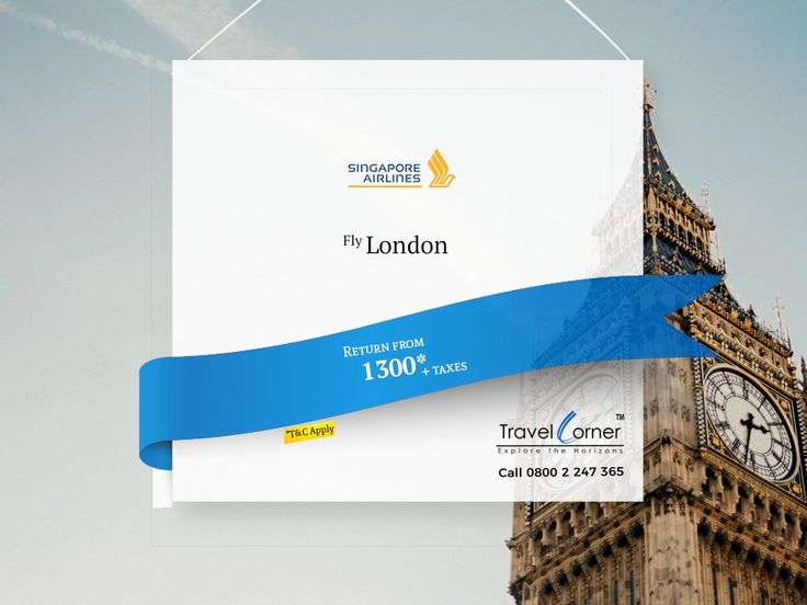 Explore London With Singapore Airlines.