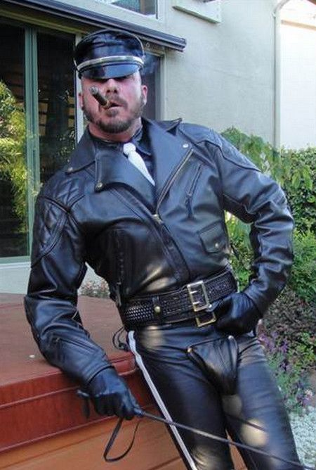 from Hudson cigar cop gay leather