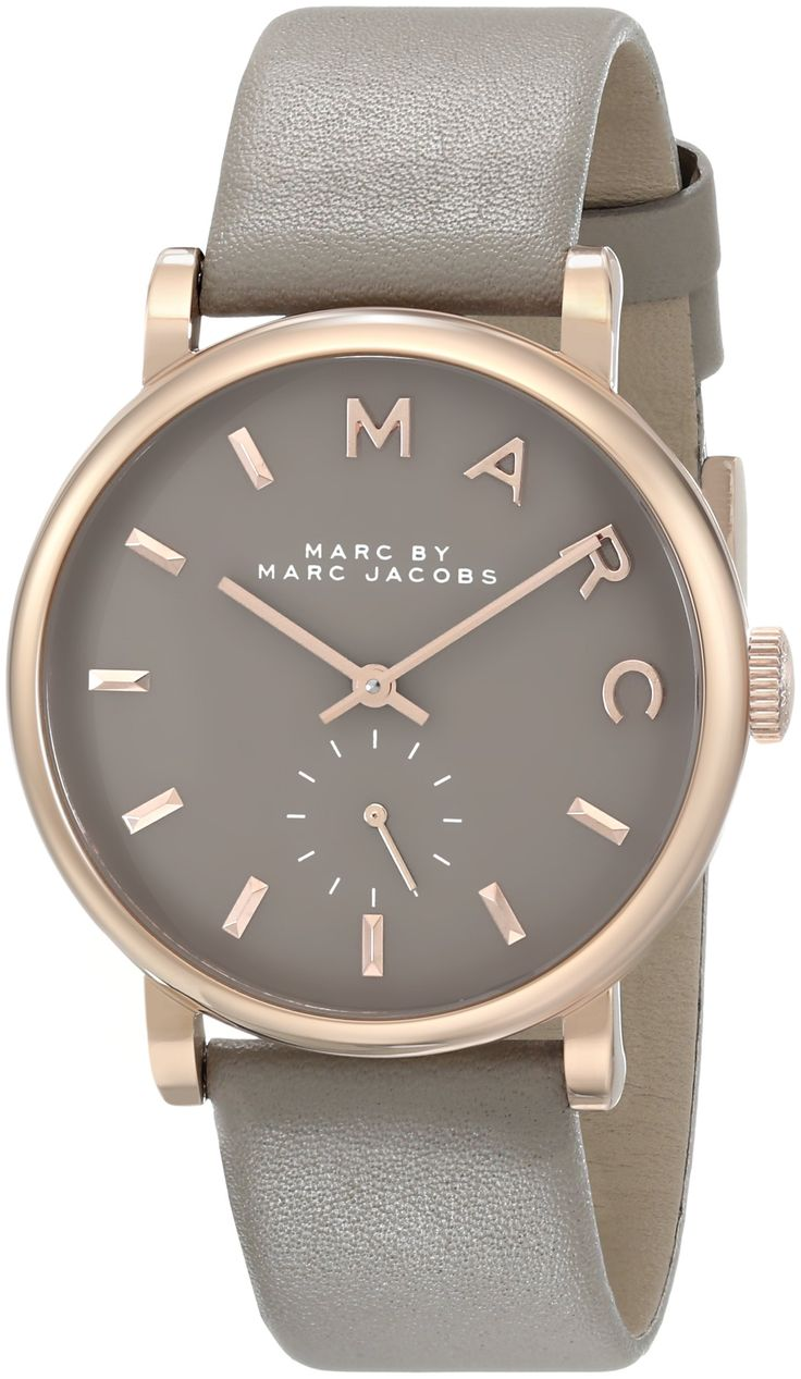 Marc Jacobs MBM1266 36mm Stainless Steel Case Beige Leather Mineral Women's Watch http://fancytemplestore.com