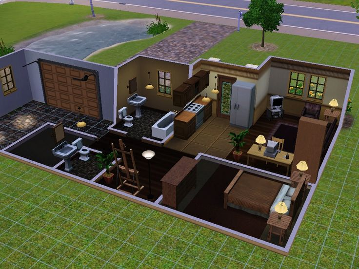 40 best Sims 3 images on Pinterest Sims 3, Beach cottages and - sims 3 wohnzimmer modern
