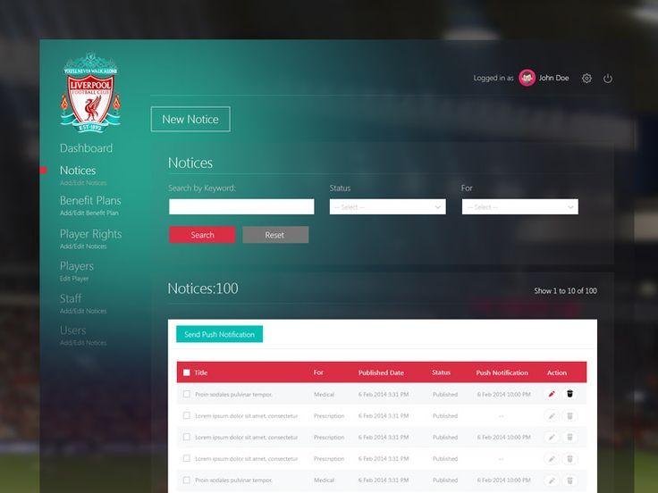 Liverpool Player Admin by vikas1307 ✈