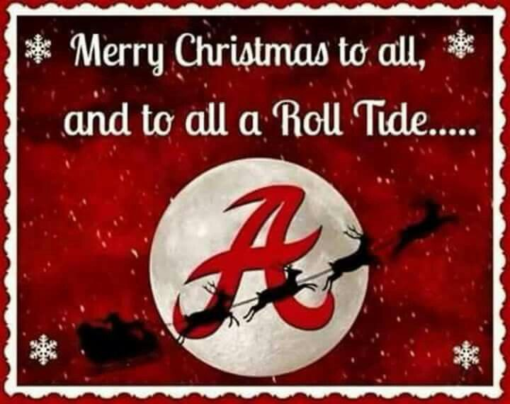 Merry Christmas Roll Tide
