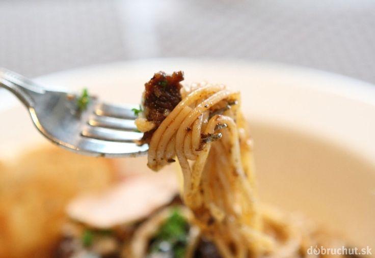 Hovädzie mäso so špagetami