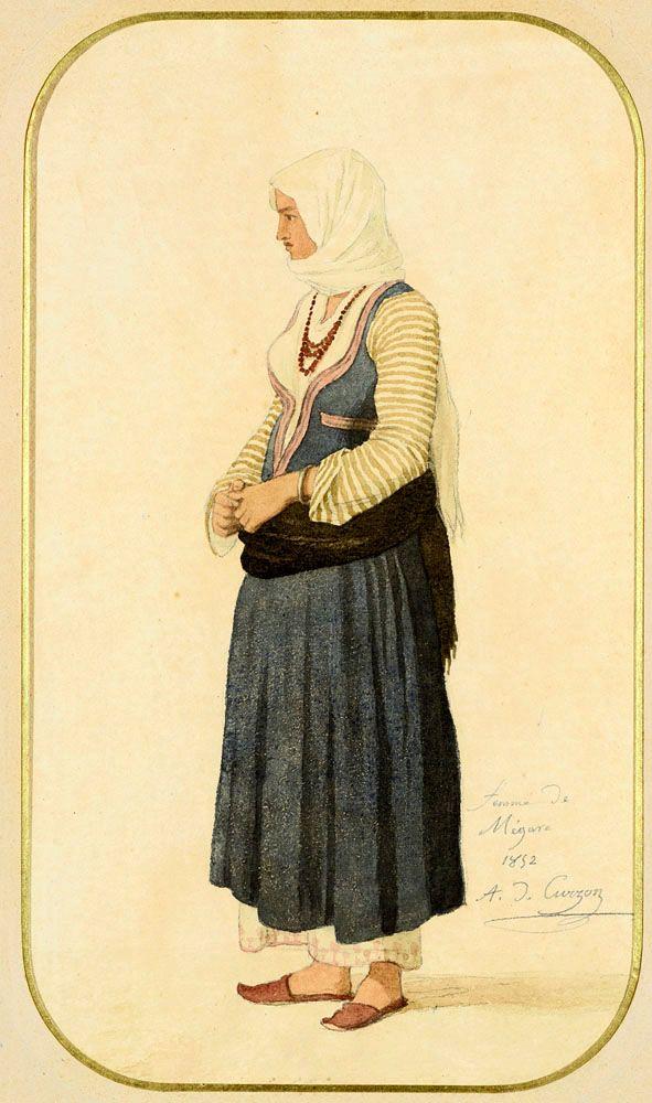 Alfred de Curzon (1820-1895)-Μεγαρίτισσα