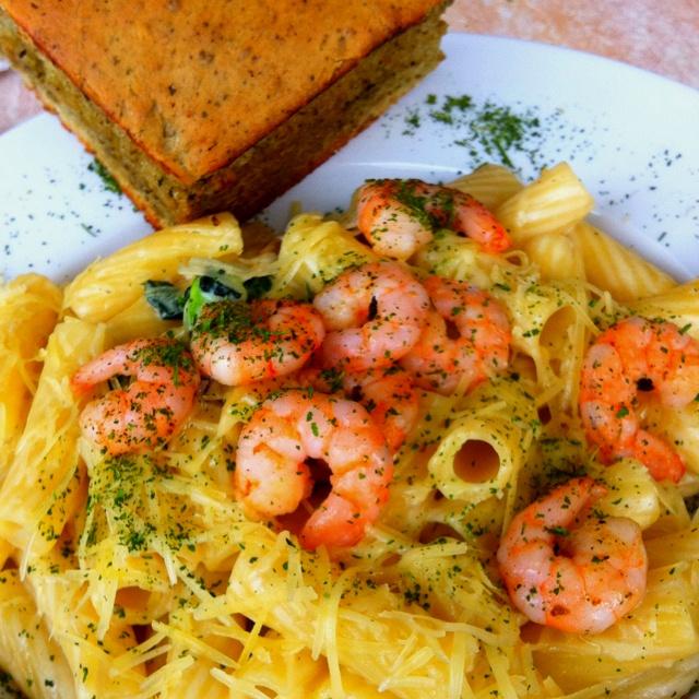 Pasta & shrimps, mamma mia!!