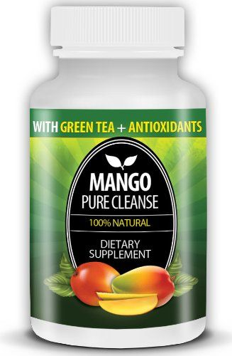 Mango Pure Cleanse- 100% Natural African Mango Extract Dietary Supplement 60 Tablets $49.99