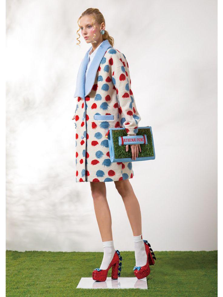 PAMEO POSE(パメオポーズ )【2015春新作】SOAP BUBBLES COATの詳細情報| RUNWAY channel(ランウェイチャンネル)