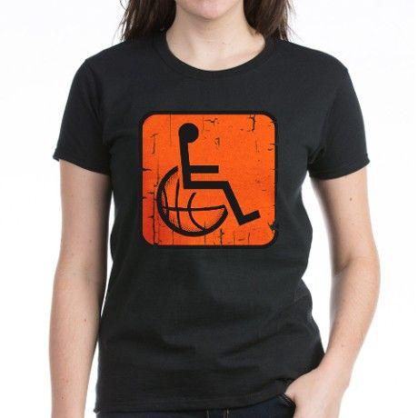 Wheelchair basketbal shirt - but in blue :)