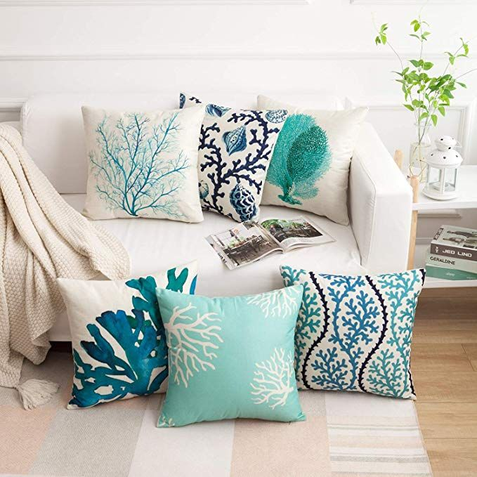 Amazon Com Famibay Decorative Pillow Cover Ocean Park Theme