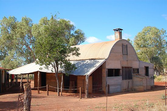 Early Australian Outback Architecture.