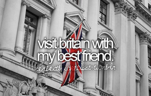 For the bucket list. ~~