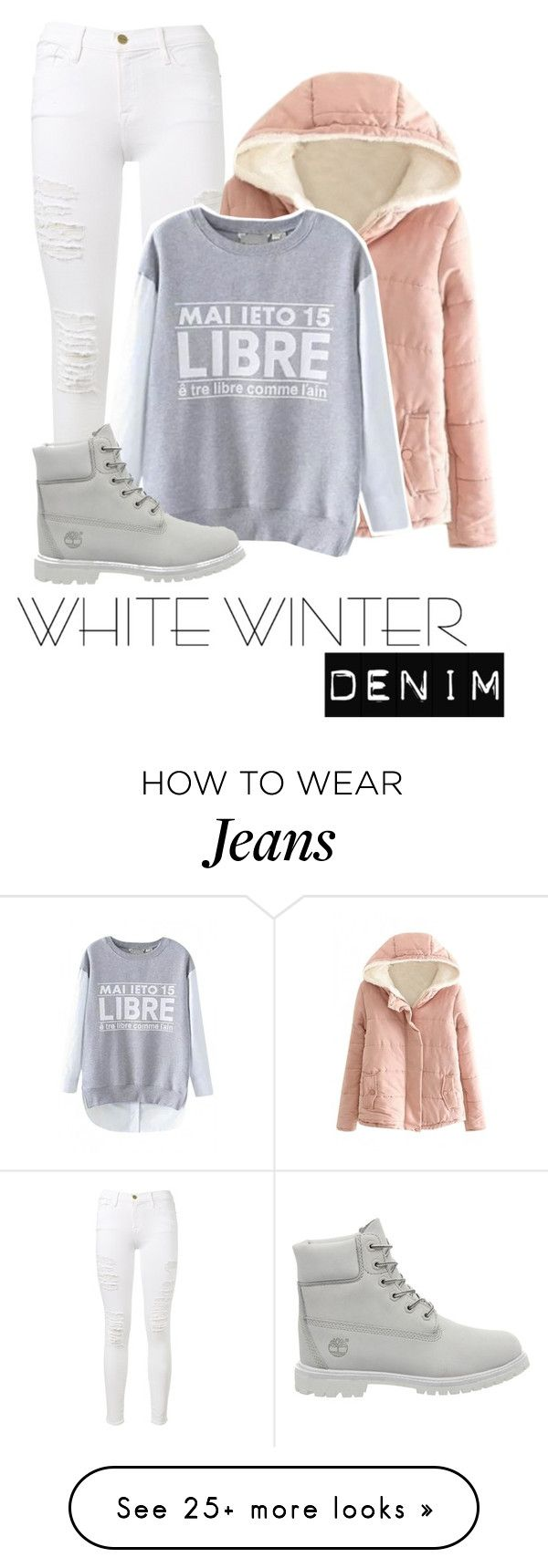 """Untitled #544"" by a01012 on Polyvore featuring Frame Denim, Timberland and bhalo"