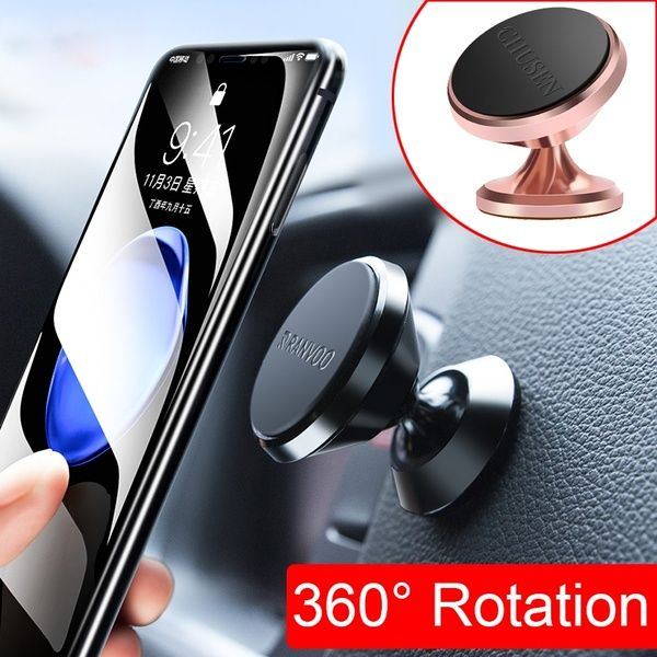 360 Degree Universal Car Phone Holder Magnetic Air Vent Mount Cell