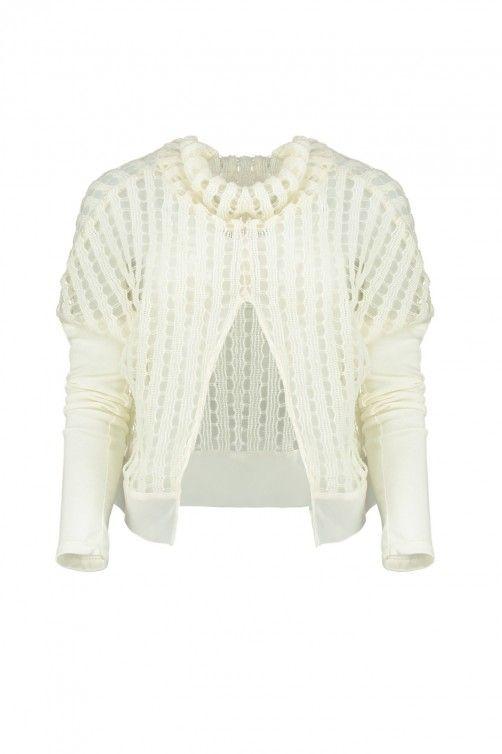 Arcade Sweater - Ivory