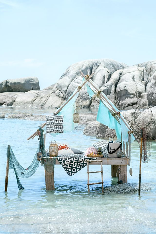 Embrace that summer spirit, pack it up and take it outside! | H&M Home