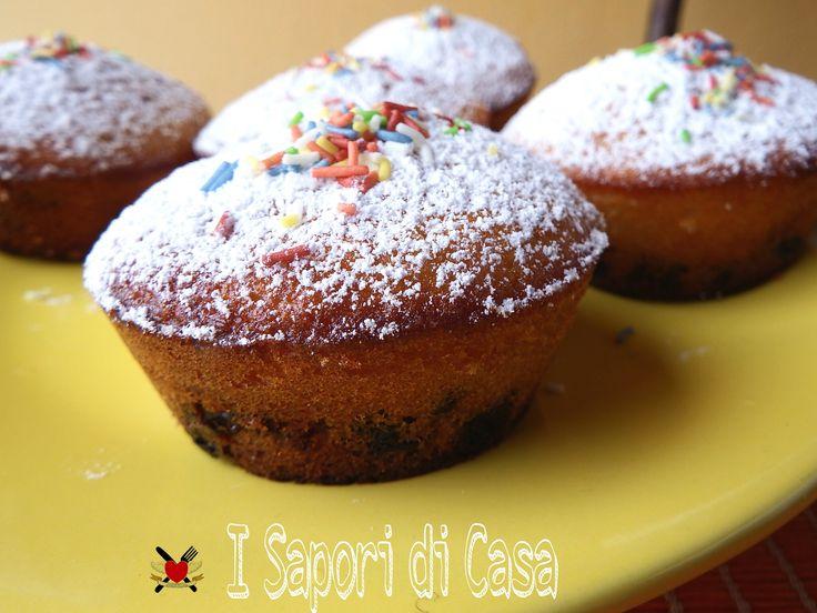 Muffin Nutella e ciliegie