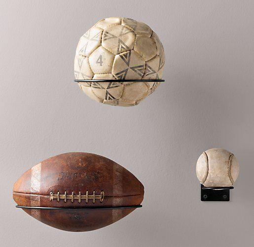 Man Cave Decor: Sports Display Racks | Wall Storage | Restoration Hardware Baby & Child