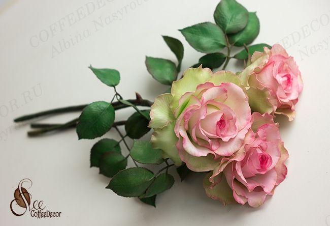 Роза Эсперанса из фоамирана