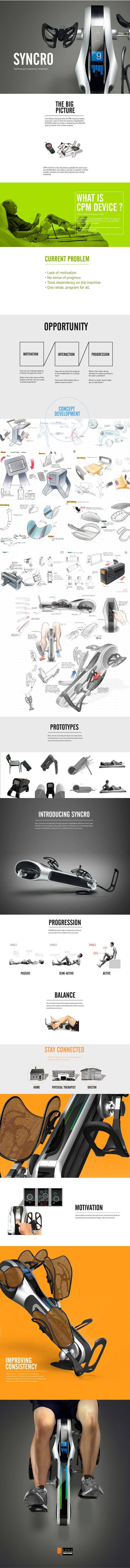 SYNCRO by James Cha, via Behance