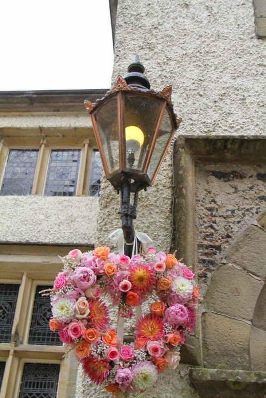 Floral heart of  Roses, Peonies, Dahlias, Hydrangeas and Sweet Peas