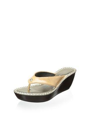 50% OFF Donald J Pliner Women's Casee Thong Sandal (Nude)