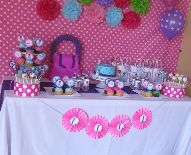 birthday ideas party mcstuffins Doc