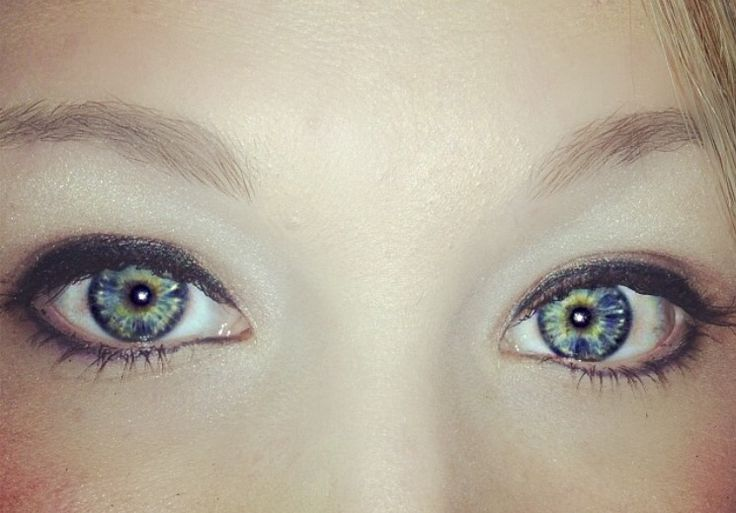 I have always described my eye color as grey because the ...