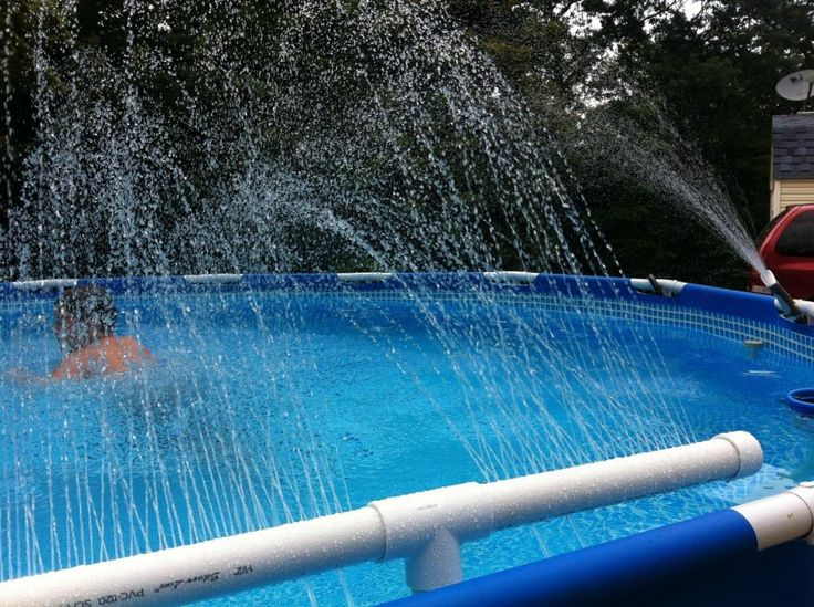 Intex Pool Plumbing : Best images about dressing up the ghetto pool on