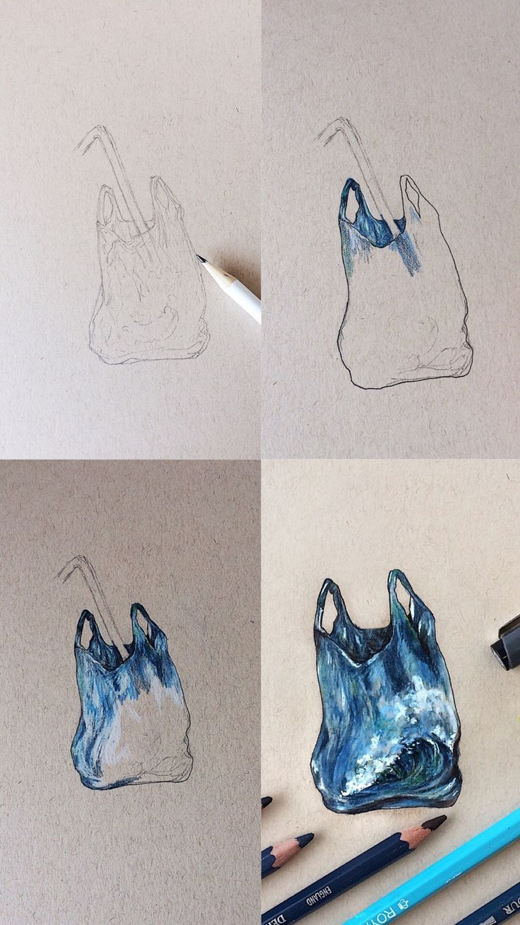 Mini Art Tutorial With Step By Step Process Photos Of A Plastic