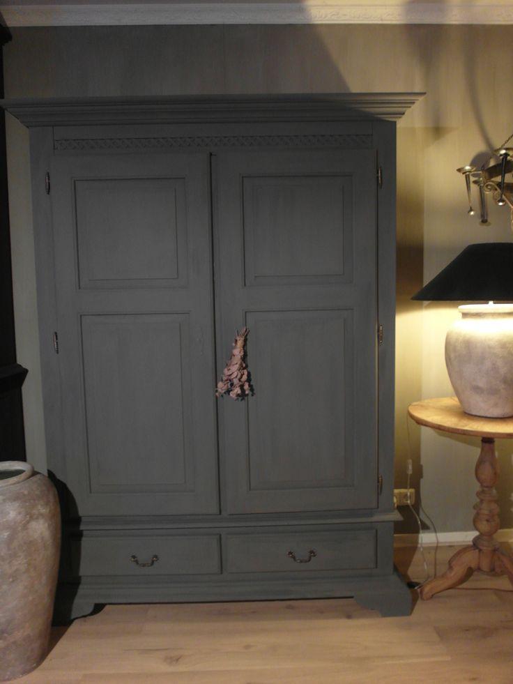 17 beste idee n over meubels verven op pinterest brocante meubels verven doe het zelf meubels - Balken grijs geschilderd ...