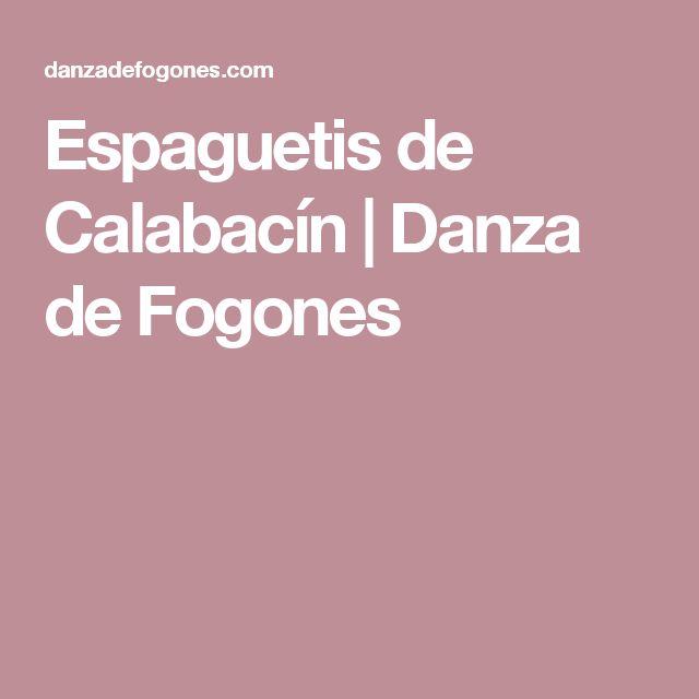 Espaguetis de Calabacín | Danza de Fogones