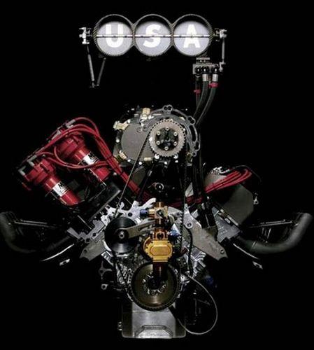 Top Fuel Engine. 6000+ HP. As American as it gets.