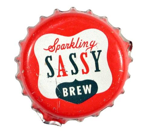 Sparkling Sassy bottlecap
