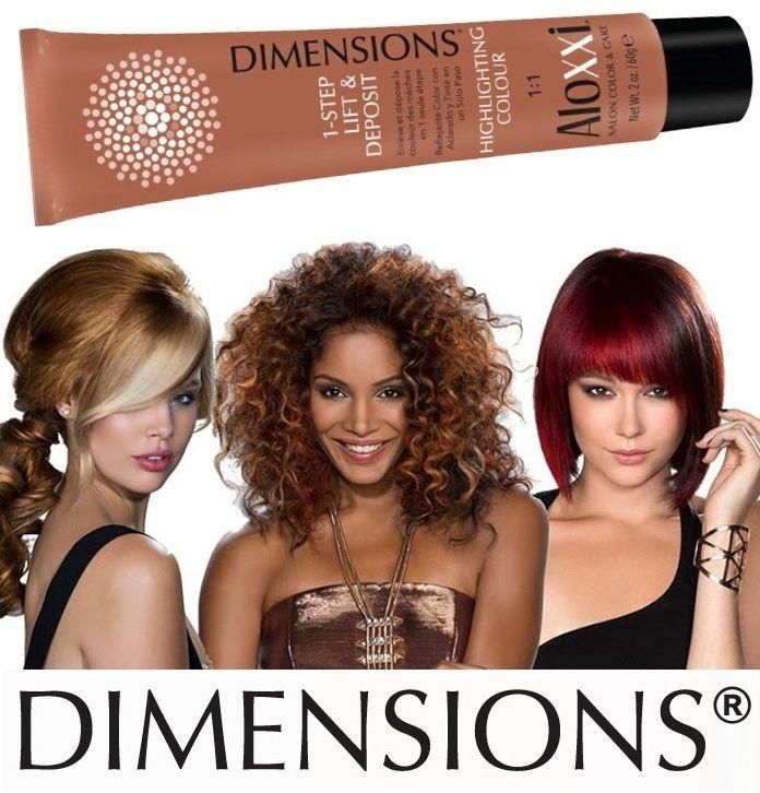 Prima schiarire i capelli e poi colorarli... questa è la regola. Ma con gli AloXXi Dimensions le regole non esistono più, perchè questi prodotti eccezionali schiariscono e colorano IN UN SOLO PASSAGGIO, senza danneggiare i capelli! Visitate www.aloxxi.it
