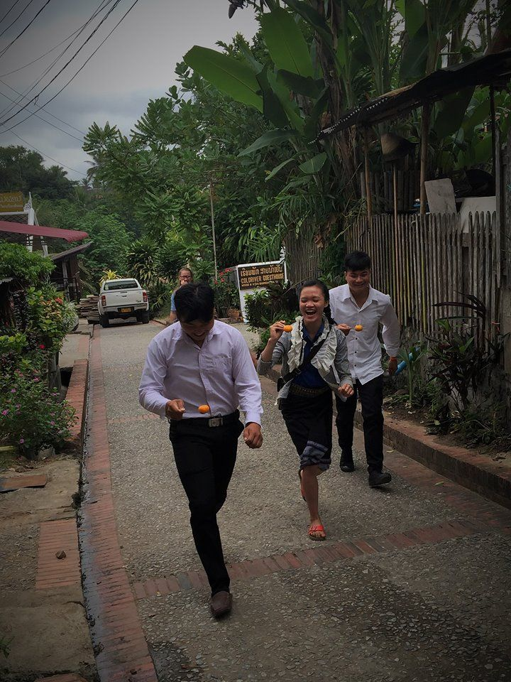 Sometimes your class needs a good relay race to liven them up. Especially when you are teaching sport activities in class!  #gvi #laos #volunteer