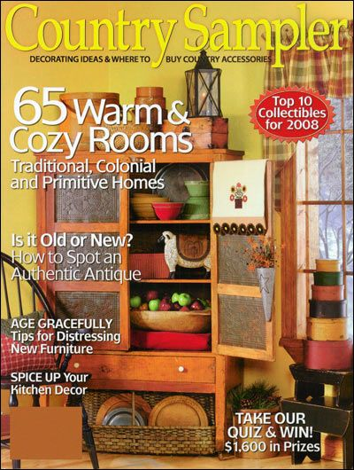 Country Samplers Decorating Ideas Magazine Subscriptions  MagMallcom  400x530 in 825KB
