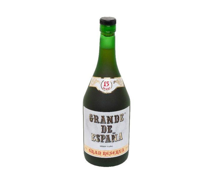 Grande de España 15 años ● Un gran Brandydeproducción muy limitada, de gran aroma y especial bouquet. Situado entre los Brandies mas selectos de España.Envejecido en barricas de roble americano durante 15 años.  - , #15Años #Brandy #Cognac #GranReserva #NoLoOlvides