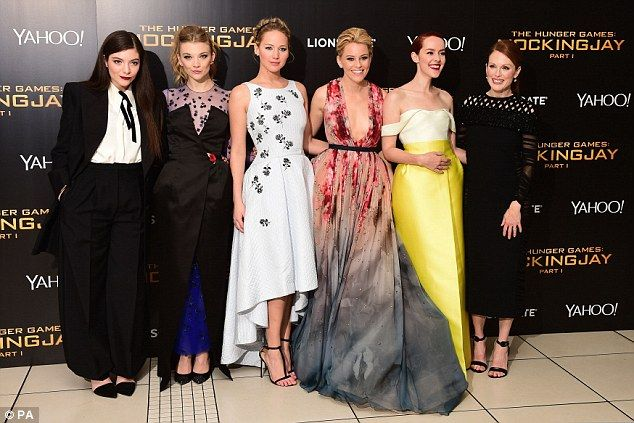 The Hunger Games: Catching Fire - UK Premiere - Natalie
