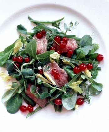 Lamb, Mint & Red Currant Salad (Nigella Lawson)